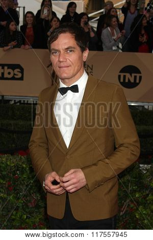 LOS ANGELES - JAN 30:  Michael Shannon at the 22nd Screen Actors Guild Awards at the Shrine Auditorium on January 30, 2016 in Los Angeles, CA