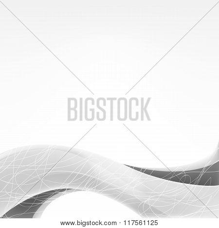 wave of gray shades