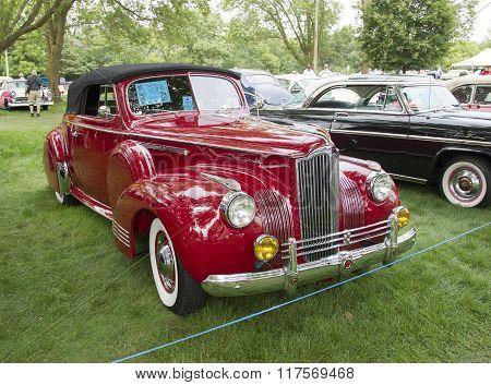 1941 Packard Red Car