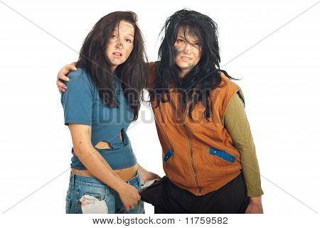 Beggars Friends Girls