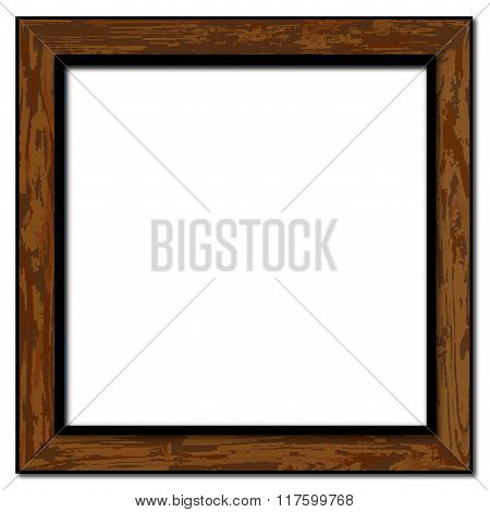 Old Weathered Picture Frame