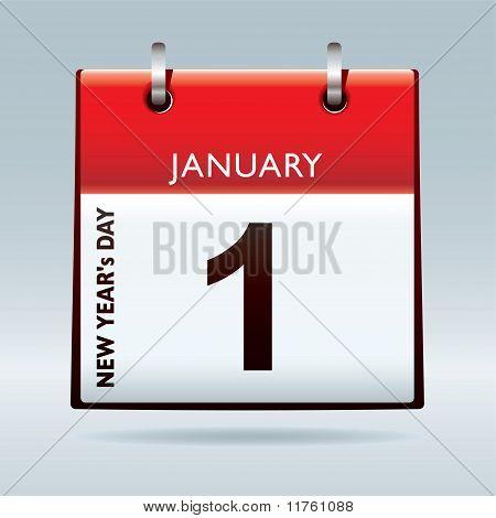 New Year's Day Calendar