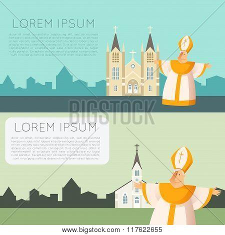 Catolic church banner4
