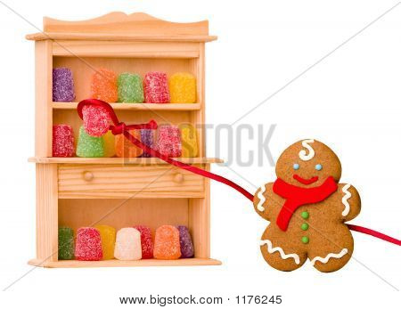 Gingerbread Boy ~ Sugar Gumdrop Roundup