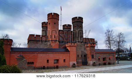 Friedrichsburg Vorota.Kaliningrad.