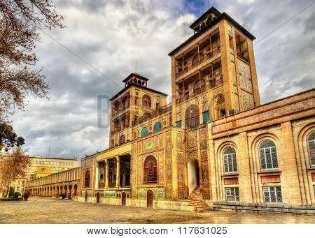 Shams-ol-emaneh Building Of Golestan Palace - Tehran, Iran