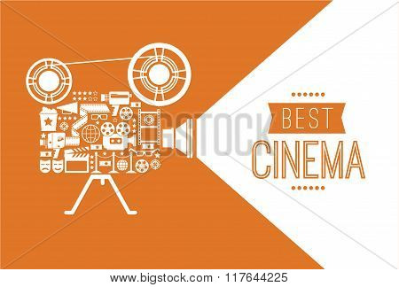 Decorative Cinema Template.