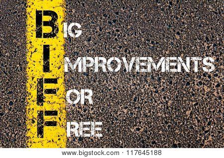 Business Acronym Biff Big Improvements For Free