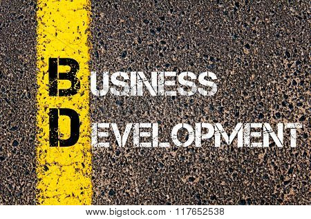Business Acronym Bd Business Development