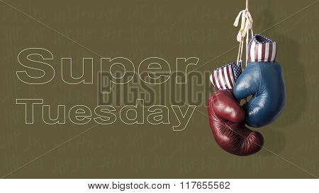 Super Tuesday In The United States Of America