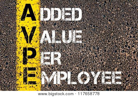 Business Acronym Avpe Added Value Per Employee