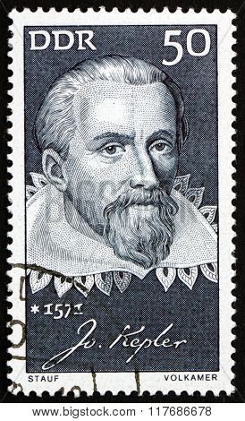 Postage Stamp Germany 1971 Johannes Kepler, German Mathematician And Astronomer