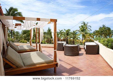 Outdoor Cabana Beds