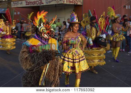 Morenada Dance Group