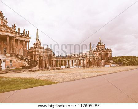 Neues Palais In Potsdam Vintage