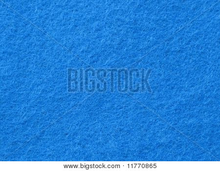 bright blue felt fabric