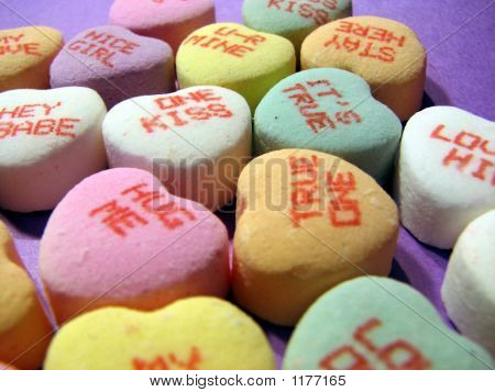 Valentine Candy Hearts2