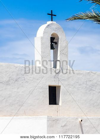 A Church In La Mola Village