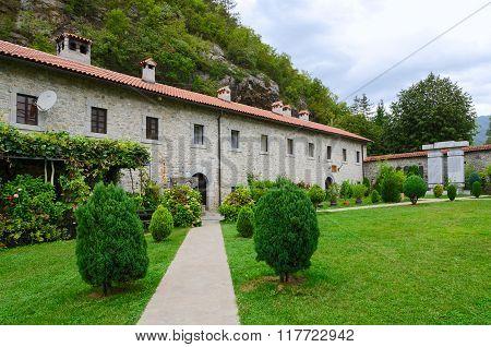 Monastery Moraca, Montenegro