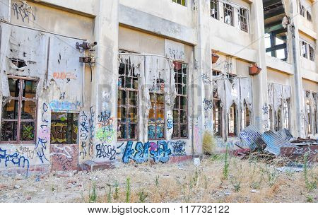 Derelict Old Power House