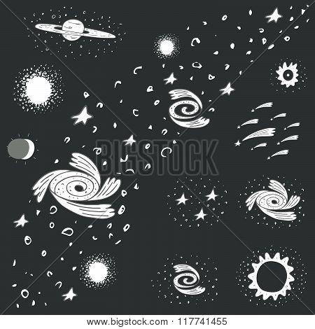 Cosmic objects set