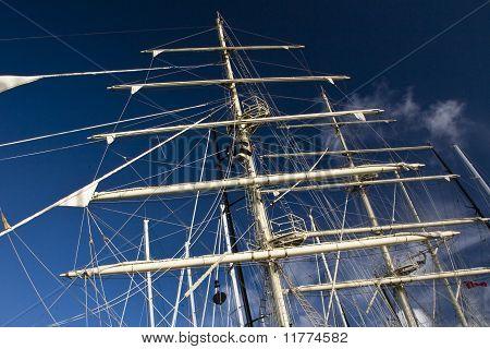 the mast