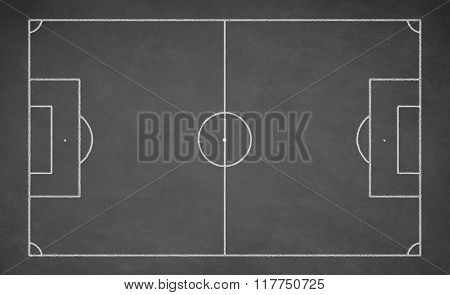 Soccer board, black