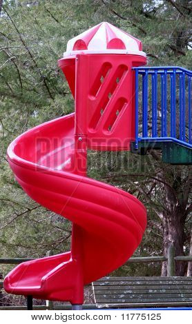 Playgroud Swirl Slide