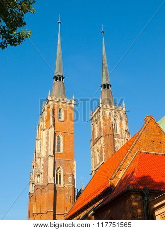 Cathedral of St. John the Baptist in Wroclaw