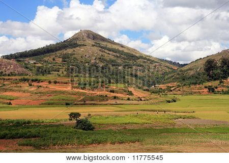 Countryside of Madagascar