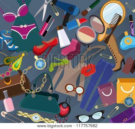 Shopping Background