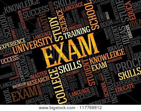 Exam, Education Collage