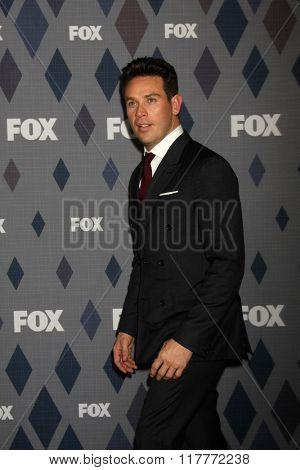 LOS ANGELES - JAN 15:  Kevin Alejandro at the FOX Winter TCA 2016 All-Star Party at the Langham Huntington Hotel on January 15, 2016 in Pasadena, CA