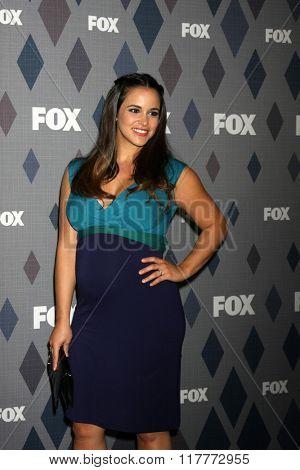 LOS ANGELES - JAN 15:  Melissa Fumero at the FOX Winter TCA 2016 All-Star Party at the Langham Huntington Hotel on January 15, 2016 in Pasadena, CA