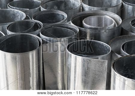 Rolls Of Flat Galvanized Metal Sheets