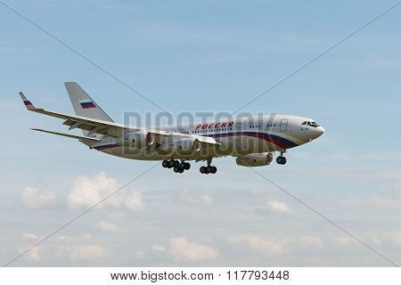 Ilyushin Il-96-300 Is A Four-engined Long-haul Widebody Airliner