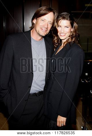 Kevin Sorbo and Sam Jenkins at the 2009 Noche De Ninos Gala held at the Beverly Hilton Hotel in Beverly Hills, California, United States on May 9, 2009.