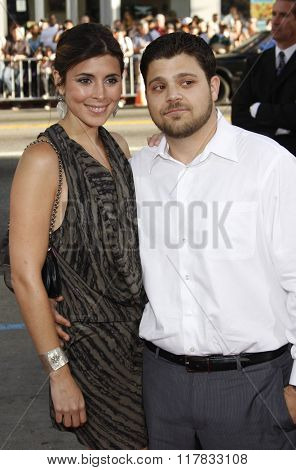 Jamie-Lynn Sigler and Jerry Ferrara at the Los Angeles Premiere of