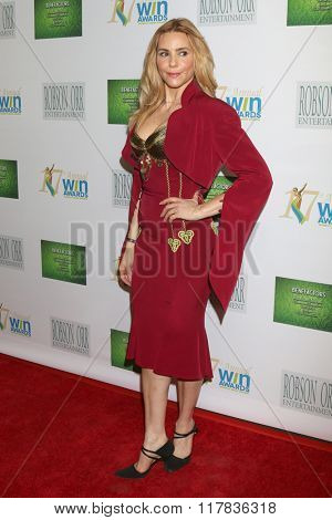 LOS ANGELES - FEB 10:  Olivia d'Abo at the 17th Annual Women's Image Awards at the Royce Hall on February 10, 2016 in Westwood, CA