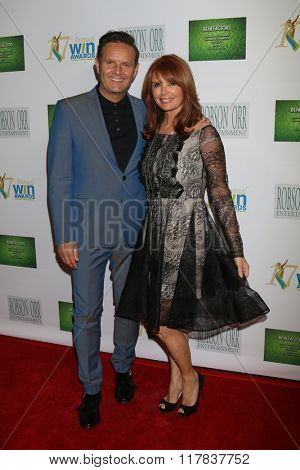 LOS ANGELES - FEB 10:  Mark Burnett, Roma Downey at the 17th Annual Women's Image Awards at the Royce Hall on February 10, 2016 in Westwood, CA