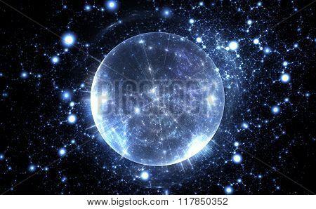Spherical Energetic Quantum Bubble