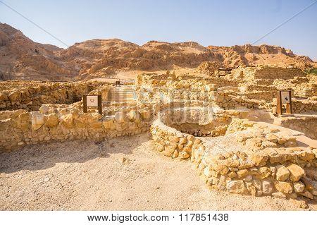 Qumran, Where The Dead Sea Scrolls Were Found