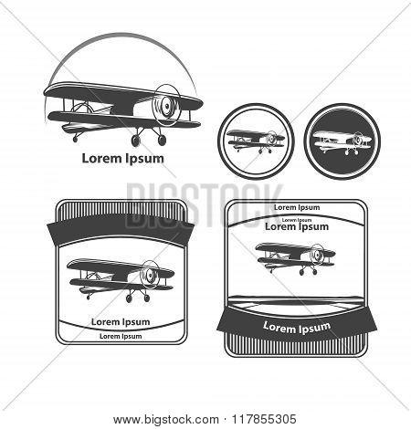 Airplane Logo Plane