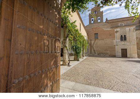 Entrance to Santa Clara Convent in Tordesillas