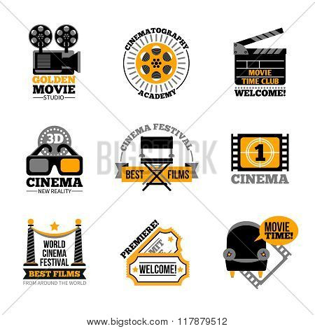 Cinema And Film Labels