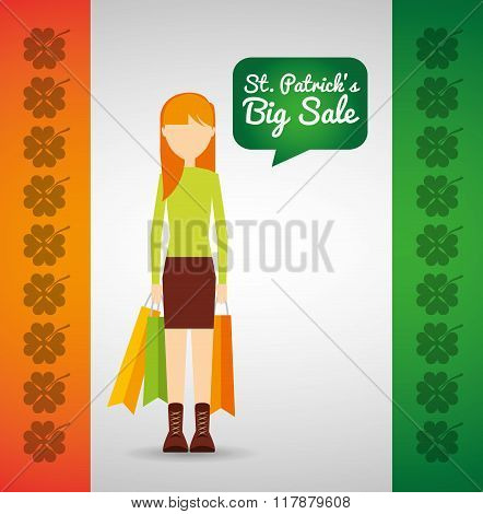 saint patricks sale design