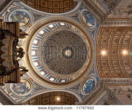Ceil Of The St' Peter's Basillica