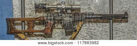 9Mm Noiseless Sniper Rifle System Serdyukov Obr.1987.