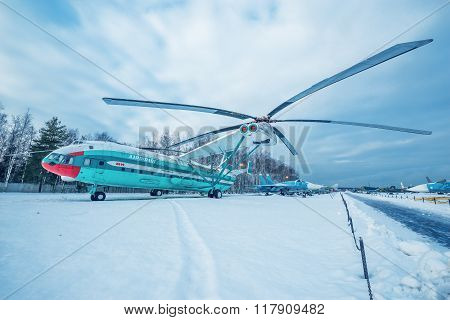 Mi-12 - Heavy Transport Helicopter.
