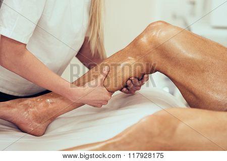 Sports Massage - Leg Massage